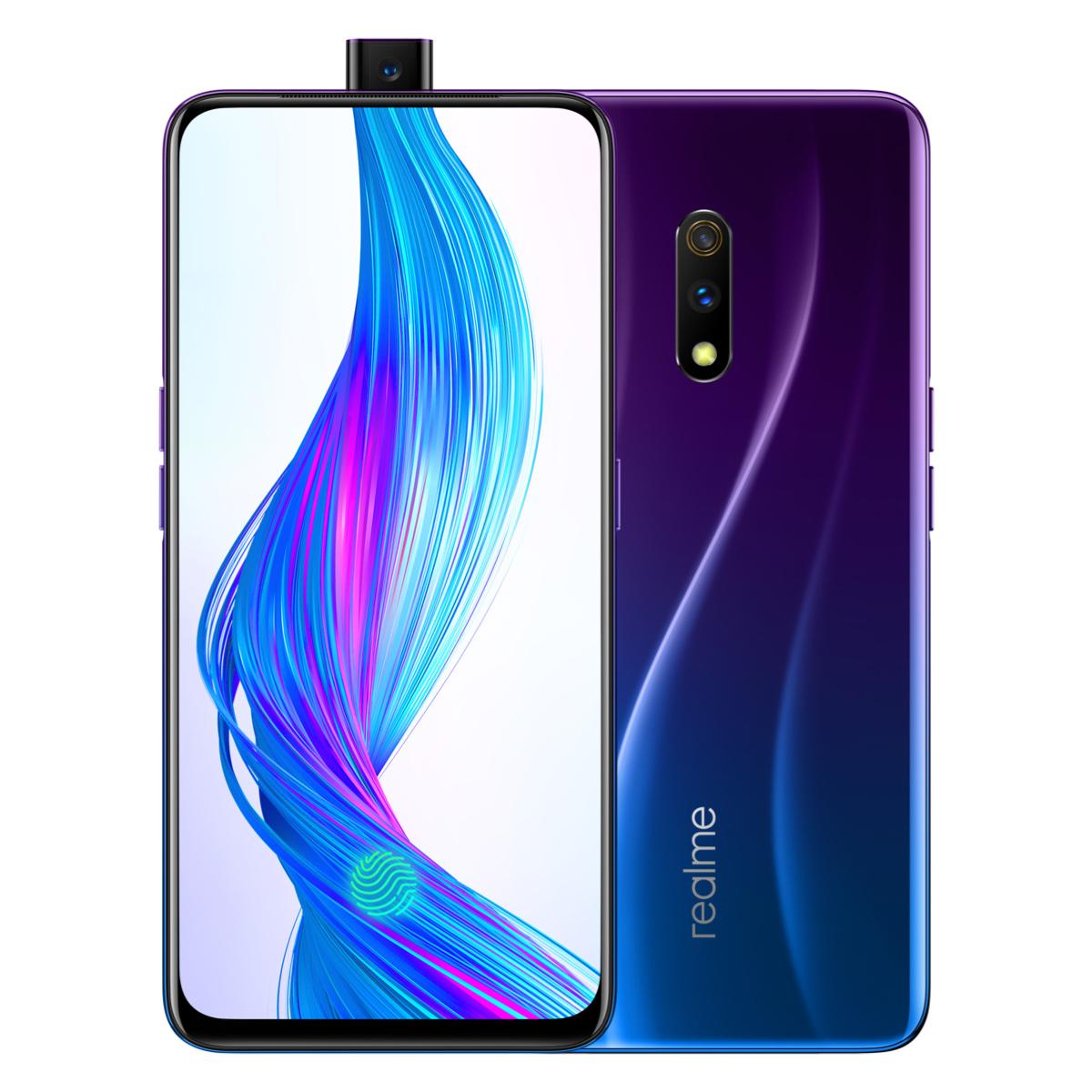 无刘海无挖空全面屏realme X手机仅售一千多